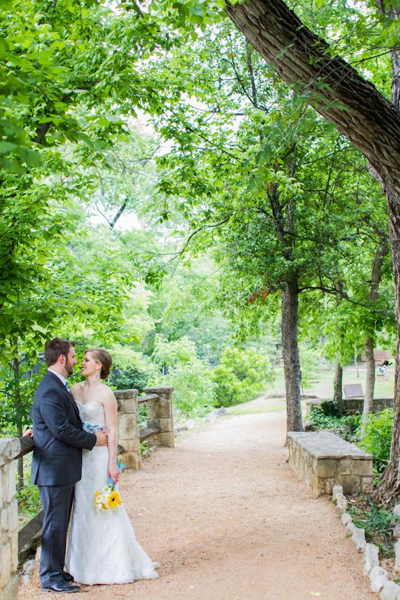 Umlauf Sculpture Garden Wedding Austin Wedding Photography