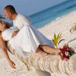 beach wedding in tulum mexico