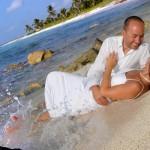beach wedding in tulum mexico